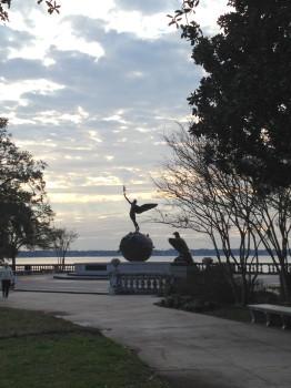 Memorial Park in Riverside, WWI Commemoration