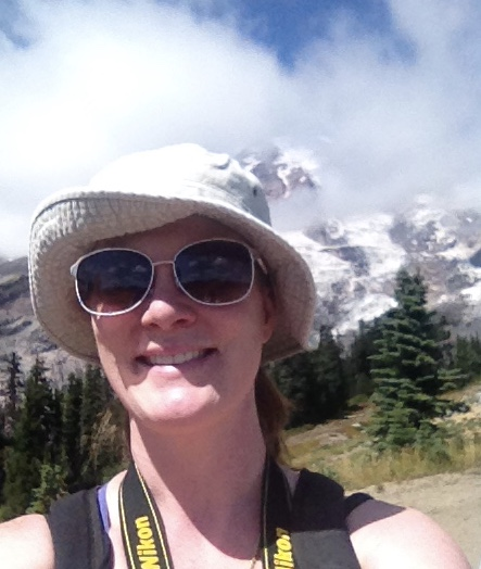 Hiking at Mt. Ranier last year, healthy, happy, and strong.