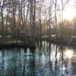 Girls Campout Site, Ginnie Springs, Florida