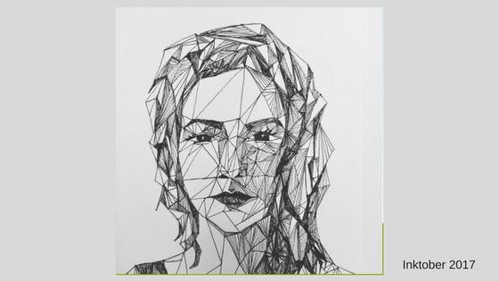 Self Portrait in Triangles