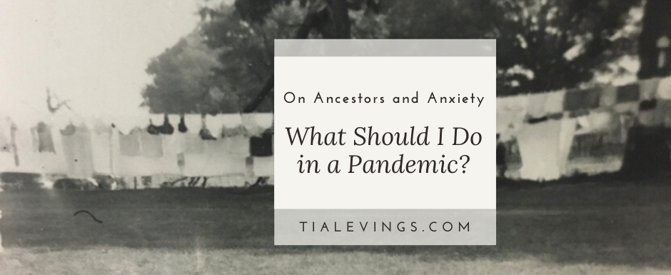 What Should I Do in a Pandemic? An Essay on Ancestors and Anxiety